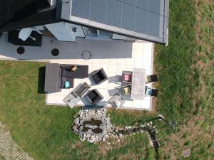 Blick auf Haus am Sternsberg aus der Vogelperspektive