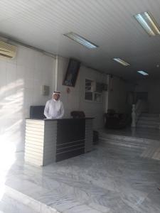 The lobby or reception area at Jar Al Habib Suites
