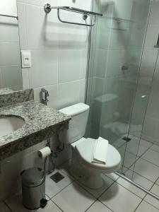 Ванна кімната в Serra Madre Residence - Rio Quente - GO