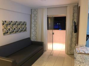 Зона вітальні в Serra Madre Residence - Rio Quente - GO