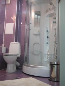A bathroom at APART Studios Blagoevgrad