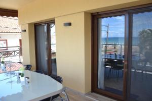 Ein Balkon oder eine Terrasse in der Unterkunft Pachmann Apartments
