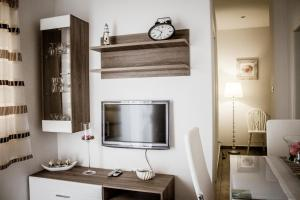 A television and/or entertainment center at Apartman Dujmović