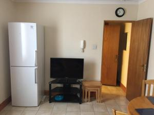 A television and/or entertainment center at Apt 3, 45 Lower Drumcondra Road.