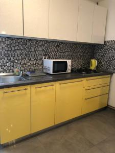 A kitchen or kitchenette at Apartment Park