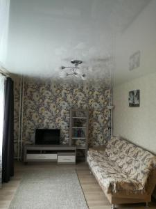 Гостиная зона в Comfortable apartments on Anokhina