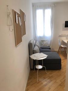 A seating area at Casa Fatta Di Sogni