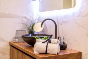 Kupaonica u objektu Monvi Luxury Suites