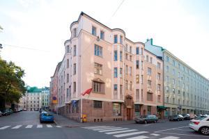 Pastatas, kuriame yra šis apartamentų viešbutis