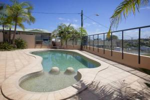 The swimming pool at or close to oceanview 6 with rooftop terrace & spa