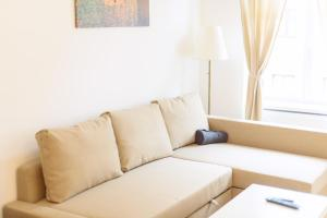 A seating area at Vienna Living Apartments - Landstraße