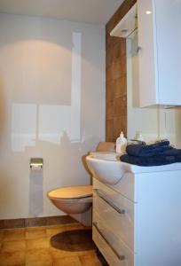 Ein Badezimmer in der Unterkunft Hotel-T8