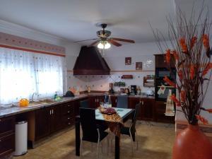 Una cocina o zona de cocina en Chalet En Sur De Tenerife