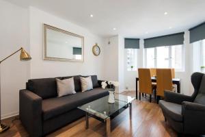 A seating area at Notting Hill Flat near Portobello Road :)