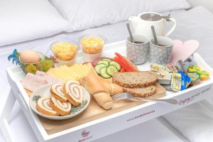 Επιλογές πρωινού για τους επισκέπτες του All4you Apartments