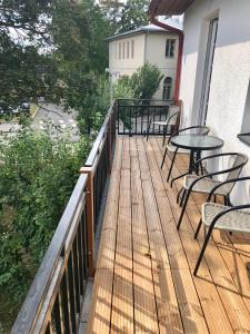 A balcony or terrace at Ontic Wellness Apartments