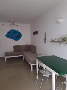 A seating area at Apartment L Casa Velha