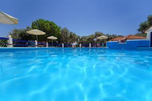 Het zwembad bij of vlak bij White Rock Apartments