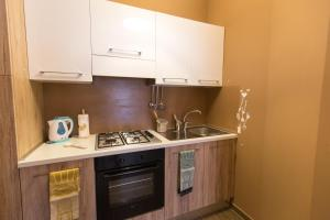 A kitchen or kitchenette at La Casetta a San Pietro