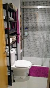 A bathroom at Apartamento Río Vello