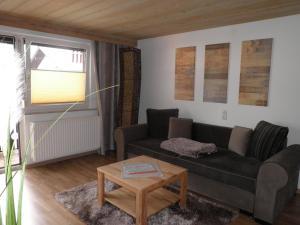 Istumisnurk majutusasutuses Haus Glätzle
