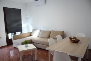 Zona de estar de Apartamentos Gav