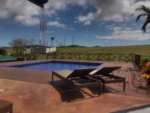 The swimming pool at or near Lake Arenal Casa Armonia