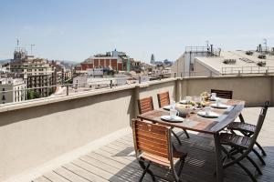 Ein Balkon oder eine Terrasse in der Unterkunft Arago312 Apartments