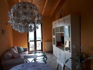 Area soggiorno di Residence La Sorgente