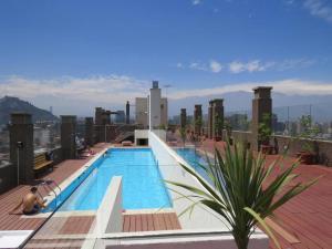 Piscina en o cerca de Santiago Apartamentos Centro