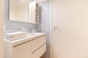 A bathroom at Alessia's Flat - Affori