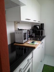 Küche/Küchenzeile in der Unterkunft Apartment Hagen Nähe TU Altstadt