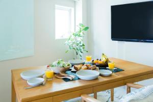 KAGO 34 by Shukuba HOTELで提供されている朝食