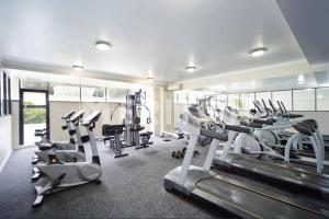 The fitness center and/or fitness facilities at Specious Apartment with 2 Large Bedrooms