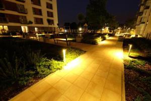 Ogród w obiekcie Apartament Łodzianka