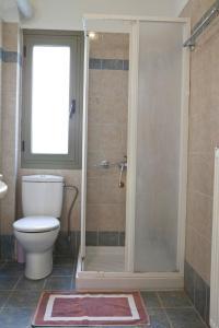 A bathroom at Evangelia