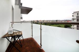 A balcony or terrace at Calamo Park