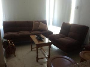 O zonă de relaxare la Jacks Apartment