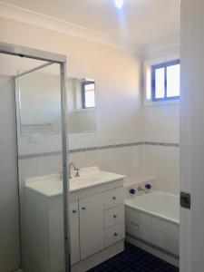A bathroom at Hunter Homestay