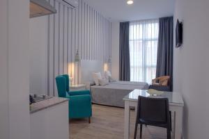 พื้นที่นั่งเล่นของ Hotel Apartamentos MPD