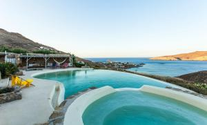 The swimming pool at or near Villa Elise by Mykonos Pearls
