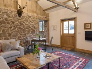 A seating area at The Bothy