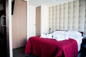Cama o camas de una habitación en Noruega