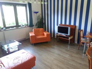 TV a/nebo společenská místnost v ubytování Residence Mahrina