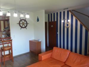 Posezení v ubytování Residence Mahrina