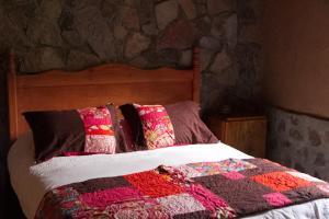 Cama o camas de una habitación en Indomito Elqui