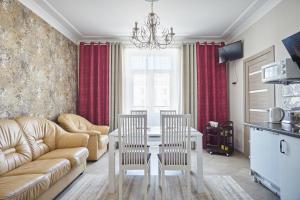 Гостиная зона в Spa Centrе Apartments Kirova