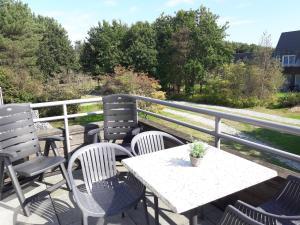 Balcon ou terrasse dans l'établissement Hollumerstrand