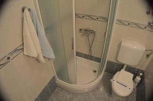 A bathroom at Rooms & Apartments Villa Anka