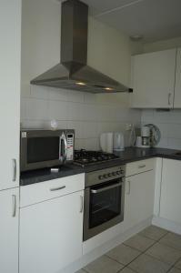 Dapur atau dapur kecil di Wetterkantwoning